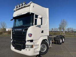 chassis cab truck Scania R730 6X4  RETARDER EURO 6 2015