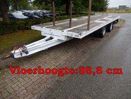 drop side full trailer Vogelzang VA-20-OPN 2 As Wipkar Open, WZ-FB-65 2007