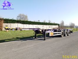 container chassis semi trailer KAESSBOHRER SHG.S Container Transport 2008