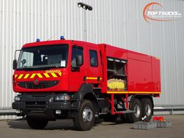fire truck Renault 6 x4 Kerax 380.32 DXI 6x4 Unused! Feuerwehr, Fire - 8.000 water-1.000 Foam... 2014
