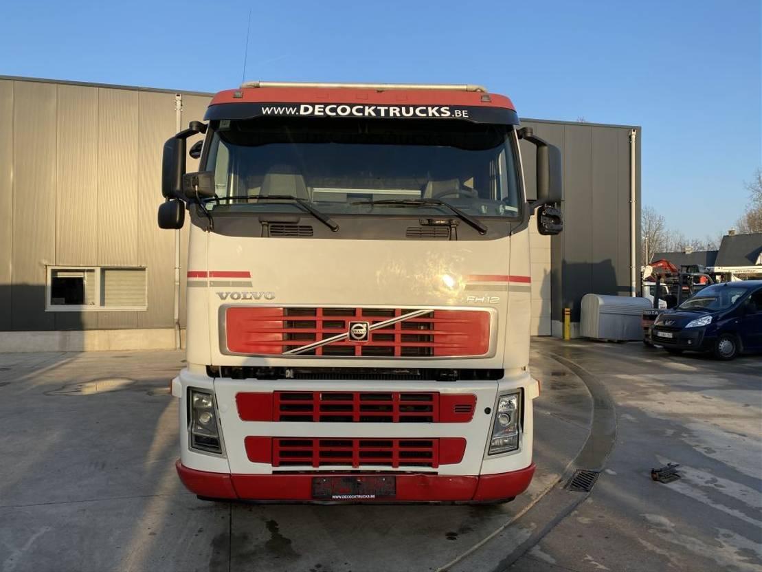 Pritschenwagen  Volvo FH12 6X4 + HIAB 288XS X5 + WINCH
