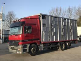 livestock truck Mercedes-Benz Actros 2553 LL Kaba 3 Stock V 8 Motor, Retarder, Klima, 1999
