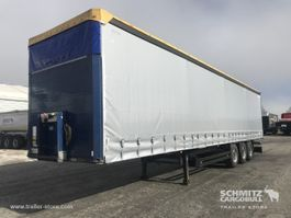 sliding curtain semi trailer Schmitz Cargobull Auflieger Curtainsider Standard 2015