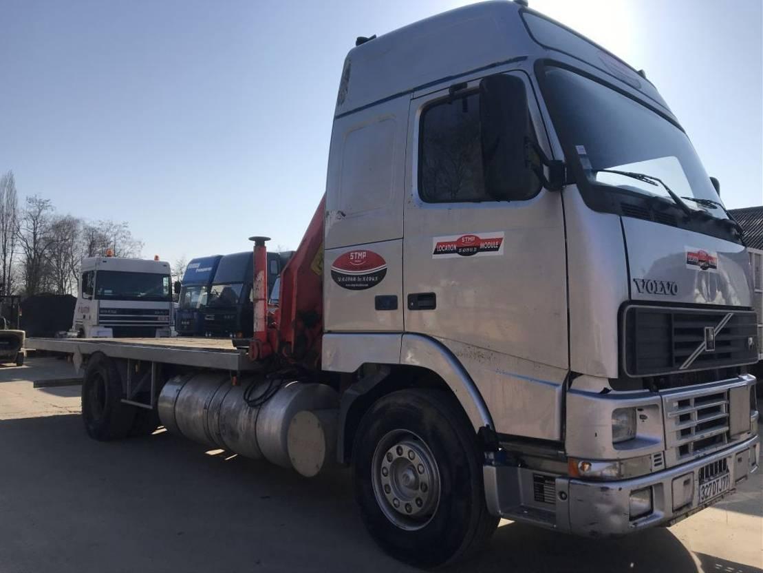 Pritschenwagen  Volvo FH12-380 **PALFINGER PK10500-FRENCH TRUCK** 1997