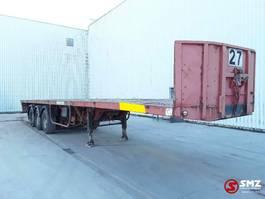 flatbed semi trailer Kaiser Oplegger Lames/lourde!!SteelSpring HEAVY 1995