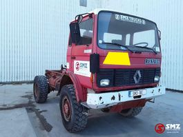 chassis cab truck Renault TRM 2000 110 6 cyl 4x4 1989