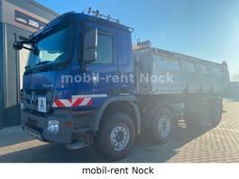 tipper truck > 7.5 t Mercedes-Benz Actros 3244 /8x4/Meiller/Bordmatic/Retarder/AHK 2013