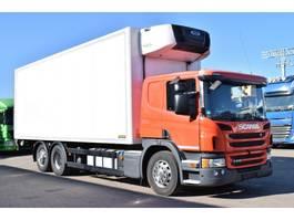 refrigerated truck Scania P410 Kühlkoffer 3Kammer Carrier 1150MT LBW 2t 2015