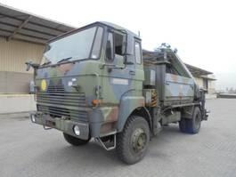 crane truck DAF YA 5442 4X4 1988