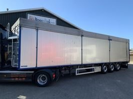 walking floor semi trailer Bulthuis 92m3 TAWA01 10MM Cargo Floor Alcoa Liftachse SAF Scheibenbremsen 2013