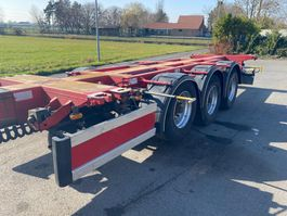container chassis semi trailer D-TEC FT-43-03V  / ALL COMBINATIONS (20 - 2x20 - 30 - 40 - 45) - LIFT AXLE 2004
