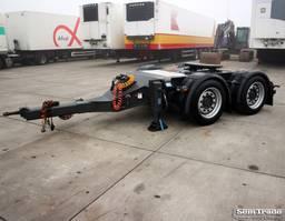 dolly trailer Renders RD9.9 LZV GEKEURD GESCOOPEERD TOP STAAT DOLLY 2012