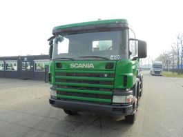 concrete mixer truck Scania P124-360 3 X (9M3 LIEBHERR MIXER - MANUAL GEARBOX - 8X4) 2001