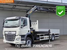 platform truck DAF CF 300 4X2 ACC Euro 6 Palfinger PK19001 SLD5-C 2021