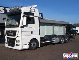 chassis cab truck MAN TGX 26.480 Euro 6 Full Leather seats 2016