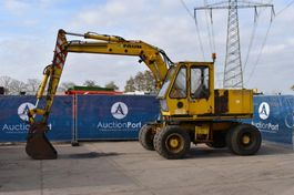 wheeled excavator Faun Diesel