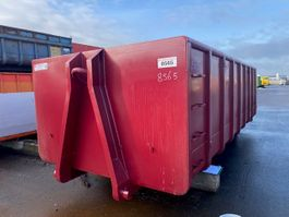 open top shipping container Vernooy Afzetcontainer