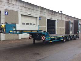 semi lowloader semi trailer Faymonville Multimax Z 4 LAU tieflader  hydr. zwangslenkung 2015