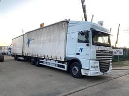 mega-volume truck DAF XF 105.460 - 6x2 - JUMBO LKW + 2-ACHSEN ANHANGER - DURCHLADER 2013