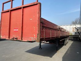 flatbed semi trailer LAG SR 1991