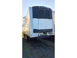 refrigerated semi trailer Krone Koel/ Vries Carrier / Zepro Achtersluit Laadklep 2000