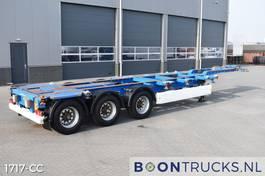 Container-Fahrgestell Auflieger Krone SD   2x20-30-40-45ft HC * AUSZIEBAHRES HECK/KOPF 2008