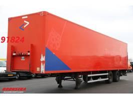closed box semi trailer Groenewegen DRO-14-18 Laadklep Stuuras LBW 2007