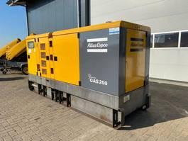 Generator Atlas Copco QAS 200 Volvo Mecc Alte Spa 200 kVA Supersilent Rental generatorset 2009