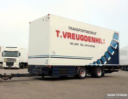 refrigerated trailer DRACO MZS220 THERMO KING BAR LAADKLEP 2002