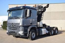 crane truck Mercedes-Benz AROCS 2851 TREKKER MET BOOM KRAAN 2014