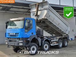 tipper truck > 7.5 t Iveco Trakker 410 AD410T45 8X8 21m3 8x8 Manual Full Steel Suspension Big-Axle Body-Heating 2010