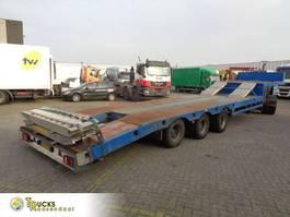 car transporter semi trailer Lintrailers 3 LSDU 18-27 + 3 axle 2001