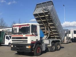 tipper truck > 7.5 t DAF 95.360 ATI 6x4 STEEL SUSPENSION / BIG AXLES / TIPPER 1991
