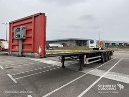drop side semi trailer Fruehauf Semitrailer Plateau 2009