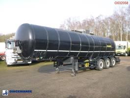 Tankauflieger Auflieger Parcisa Bitumen tank inox 30.4 m3 / 1 comp 2002
