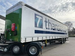 sliding curtain semi trailer Schmitz Cargobull 2 Akslet trailer 2016