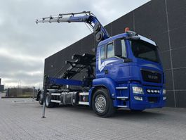 drop side truck MAN TGS 26.480 6x2/4 Euro 5 2013