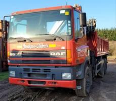 tipper truck > 7.5 t DAF CF 85.340 85CF340 6X4 2001