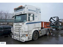 cab over engine Scania R620 6x2 Truck with hydraulics. WATCH VIDEO 2009
