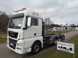 container truck MAN TGX 35-500 8x4-4 BL 2017