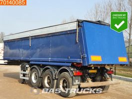 tipper semi trailer ATM OKA 15/27 3 axles 25m3 Steel Tipper Liftaxle 2001