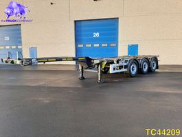container chassis semi trailer KAESSBOHRER SHG AMH Container Transport