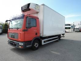 refrigerated truck MAN MAN - kølekasse med lift TGL 12.210 2008