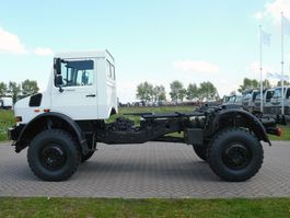 chassis cab truck Mercedes-Benz UNIMOG U5000 4x4 - Euro 3 - Chassis Cabine - NEW