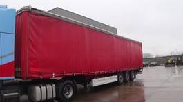 tilt semi trailer Krone SDP 27  (BPW-axles) 2001