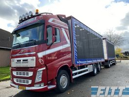 sliding curtain truck Volvo FH 460 2014 FH4 460 6X2  pluimvee SOLO 2014