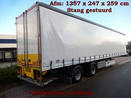 sliding curtain semi trailer Fliegl 2 As Oplegger Schuifzeil, OG-72-RV 2001