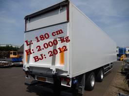 closed box semi trailer Floor FLO 12 202 2 As Oplegger Gesloten, OD-44-YY 1996