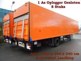 geschlossener Kasten Auflieger Floor FLO-7-10 1 As Oplegger Gesloten - 8 Stuks