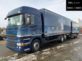 closed box truck Scania